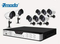 Zmodo 8CH DVR Recorder Security Surveillance With 4 CCTV Camera System Sony CCD Sensor